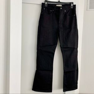 Madewell Cali-demi Boot Cut Jean - Black